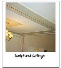 Sculptured Ceilings - Click for more examples